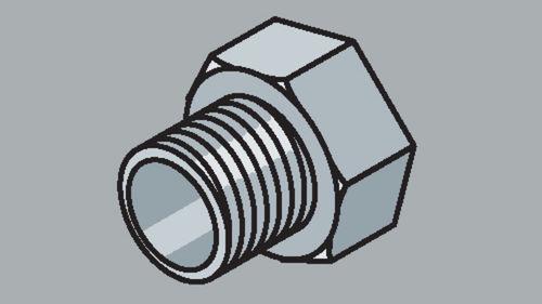Stahlrohr-Fitting Reduziernippel