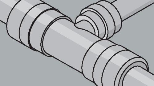 Rohrstecksystem