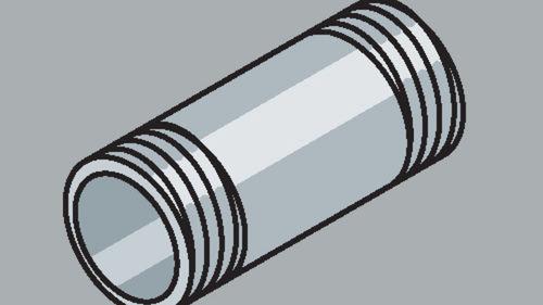 Stahlrohr-Fitting Rohrnippel