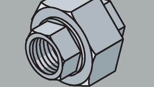 Stahlrohr-Fitting Verschraubung