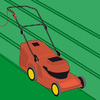 Rasenpflege mit dem Rasenmäher