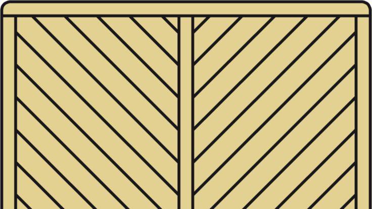 Sichtschutz Holz-Element