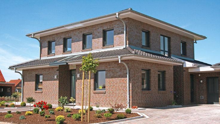 Haus mit Kunststoff-Fassade