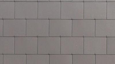 Doppeldeckung bei der Fassade