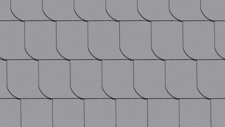 Geschlaufte Fassadendeckung