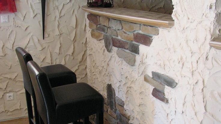 Kellergestaltung durch Wandverblendung