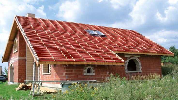 Lattung für Dachdeckung