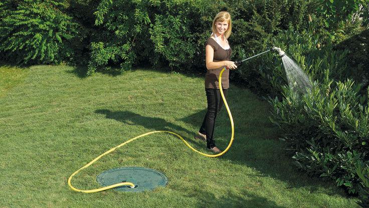 Regenwassernutzung fuer Bewässerung