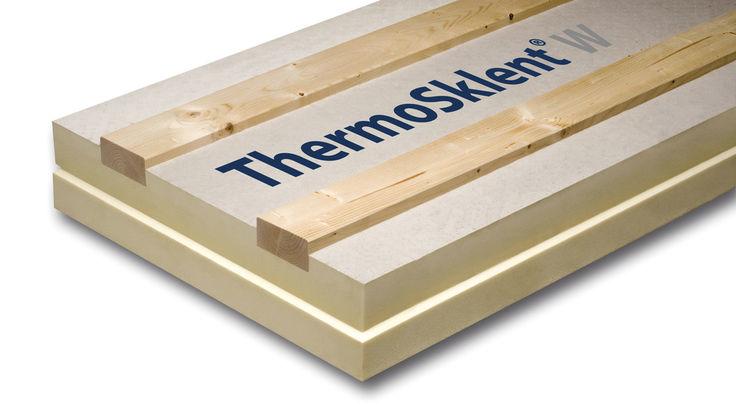 Wärmeschutz mit Hartschaum-Elementen aus Polyurethan