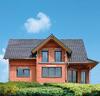 Haus ohne Farbanstich