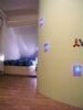Raum mit gebogener Wand