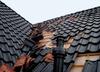 Dach mit Sturmschaden
