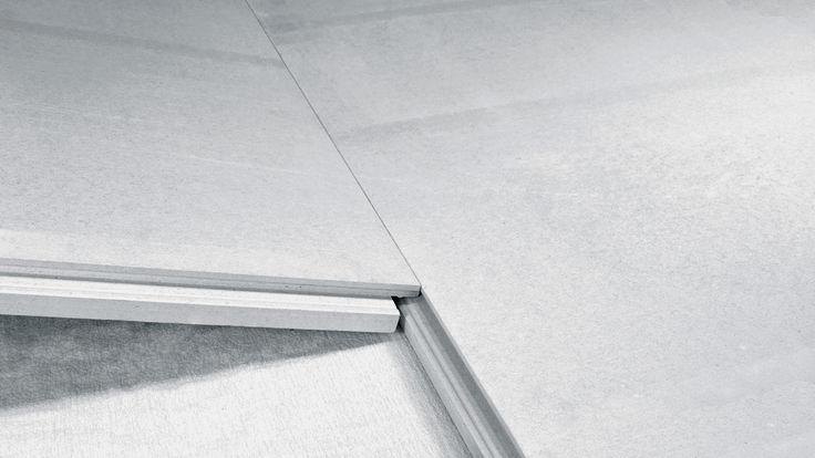 Bodenplatten-Verlegung mit Klicksystem