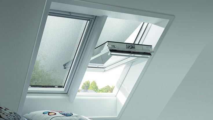 Dachfenster mit flexiblen Sonnenschutz