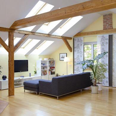 Wohnraum unter dem Dach