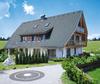 Landhaus mit granitfarbenen Ziegeldach