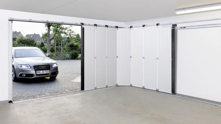 Garage mit Sectionaltor