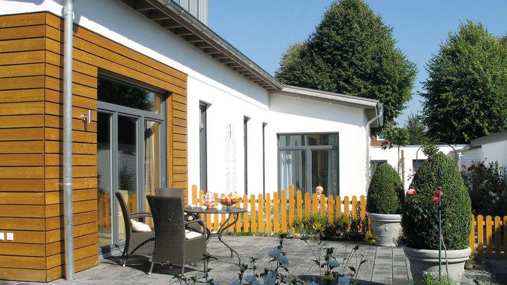 Haus mit Fassadenpaneele