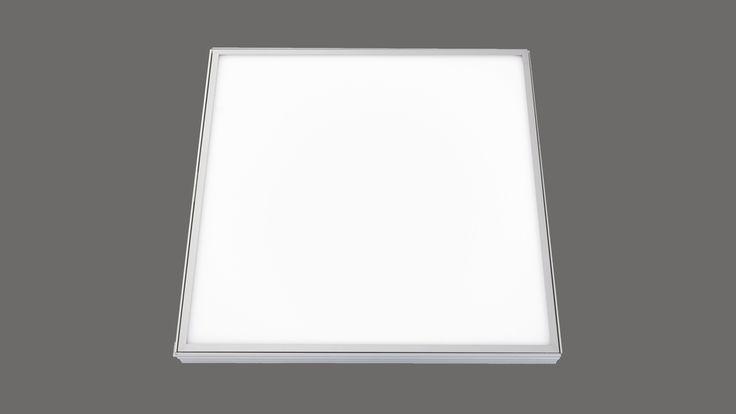Quadratische LED-Deckenleuchte