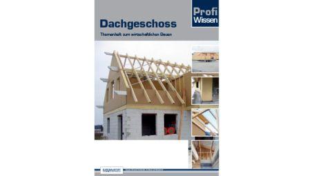 Umschlag Blätterkatalog Titelseite Profiwissen Dachgeschoss