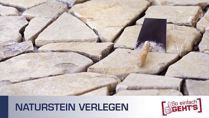 Video Naturstein verlegen i&M