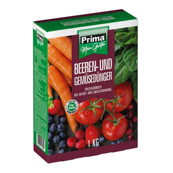 Prima Beeren- und Gemüsedünger